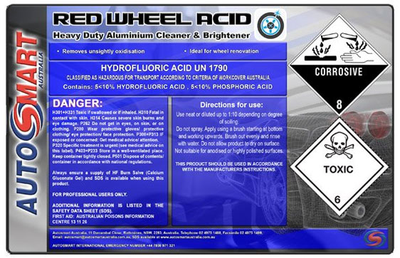 Red Wheel Acid